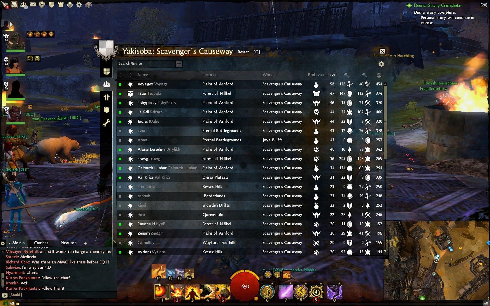 Guild Wars 2 BWE2 is over! - Yakisoba Guild